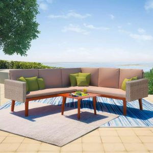 4x Outdoor Lounge