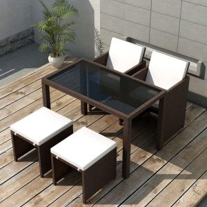 5x Outdoor Dining Set