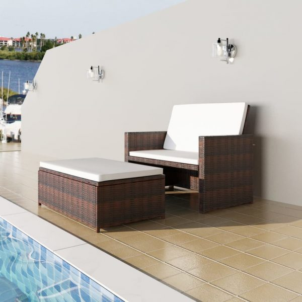 2x Outdoor Lounge