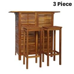 3 Piece Bar Set