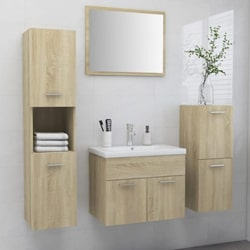 4X Bathroom Furniture Set