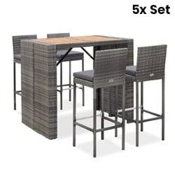 5X Outdoor Bar Sets