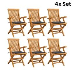 6X Garden Chairs