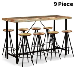 9 Piece Bar Set