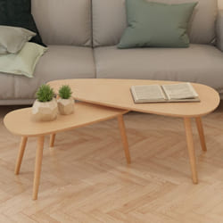 Pine Wood Coffee Table